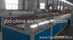 wood plastic decking production line