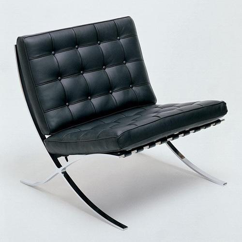 Wholesale Black Leather Designer Sofa From China