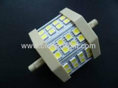 SMD led light smd lamps 24pcs 5050 SMD led bulbsR7S base