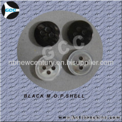 Black M.O.P.Shell button
