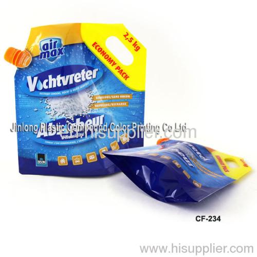 spout bag with handle