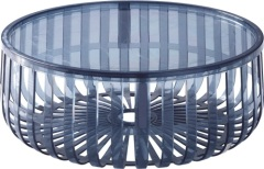 crystal Panier PC round Coffee Table
