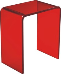 fashion red Acrylic Coffee Table