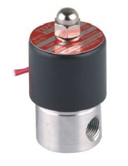 "2 Way High Pressure Water Solenoid Valve Direct Drive Stainless steel 36V AC G3/8"" 2.0mm Small Aperture 2SH Series"