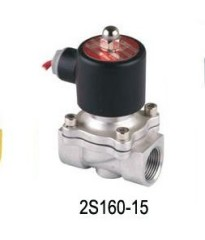 2S Series Air Stainless steel Solenoid Valve (large Aperture) DC 12 24,AC 110V 220V