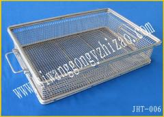 lace edging wire mesh baskets