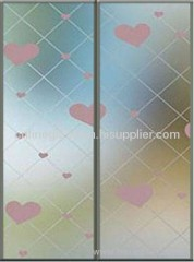 silkscreen glass from Yantai manufacturer