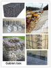 Rockfall netting ] Gabion cage ] Stone cage