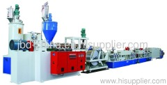 PET packing belt extrusion line