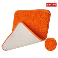 Microfiber Chenille Thin Coral Rug/Carpet/Mat (XQH-D014)