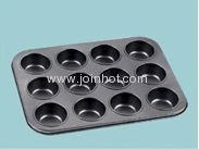 Non-stick 12cavity coating cake pan