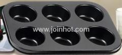 Non-stick coating heat-resisting moulds