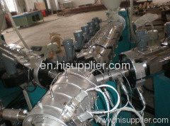 three layers pipe extrusion line