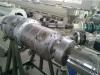 PE+glass fiber+PE pipe machine