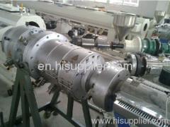 PE+glass fiber+PE pipe extrusion line