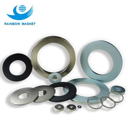 China supplier permanent magnet ring