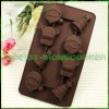 Christmas chocolate mold silicone cake pan