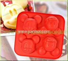 Mickey Mouse Cupcake Muffin Chocolate Silicone cake pan
