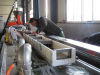 PE+wood plastic profile extrusion line