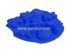 food -grade and flexible silicone flower cake mold