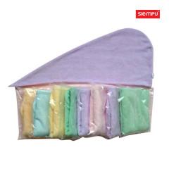 Microfiber Hair Drying Turban (XQB-C007)