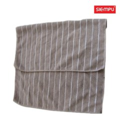 Microfiber Striped Bath/Hand Towel (XQB-C033)