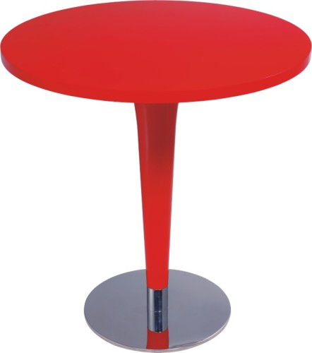 Popular Red Wood Round Bar Tables From China Manufacturer