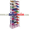 10 Tier Stackable Shoe Rack