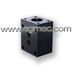 NG6 Rexroth DBDS6K Pressure Relief Valve Subplate Mounting Block
