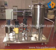 Column type diatomite filter machine