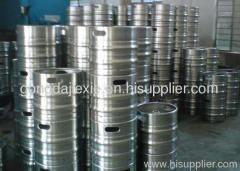 .Stainless steel beer keg