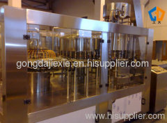 Isobaric filling capping 3-in-1 machine