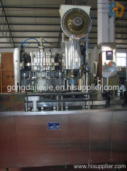 .Beer filling capping 2-in-1 unit machine