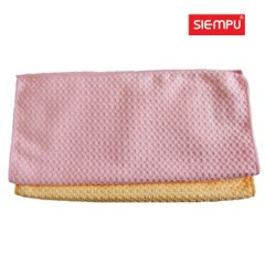 Microfiber Pineapple Grid Cleaning Towel (XQK-C008)