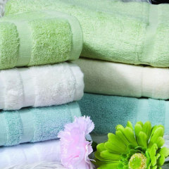 Pure Cotton Multicolor Bath Towel (XQB-C001)
