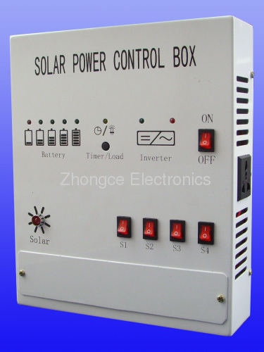 Solar System Control Boxes From China Manufacturer