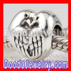 european Dove Charm Bead