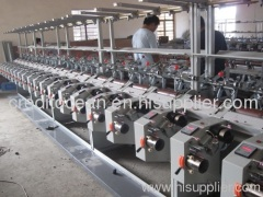 High speed bobbin soft winding machine