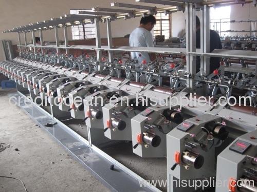 High speed bobbin soft winding machine