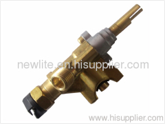 Gas Valve with manget for gas ovenwith aluminum cap