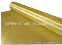 Brass Wire cloth