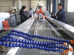 PE+wood profile production machine