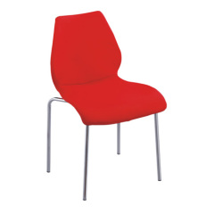 Popular Red PP Stable Mauihair side chair dining kitchen room furniture chairs store