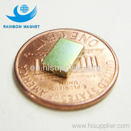 magnetic materials permanent magnet block