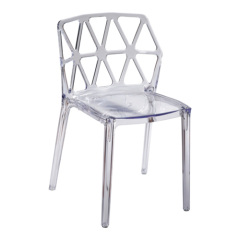 Unique Crystal European Style Supernatural side Chair Dining Room outdoor coffee side chairs furniture store
