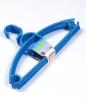 5pcs Plastic Blue Coat Hangers Set
