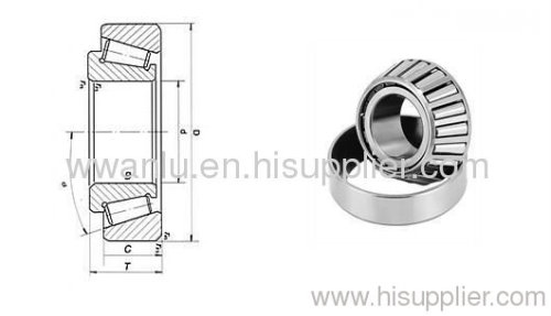 The most competitive product Taper roller bearing 30203