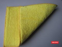 Dual Sided Microfiber Dish Cleaning Pad/Sponge(XQK-C019)