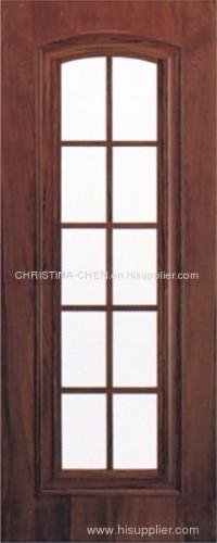 glass wooden door; interior wooden door; main door