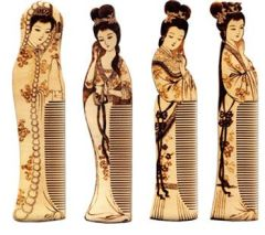 Chinese artist comb